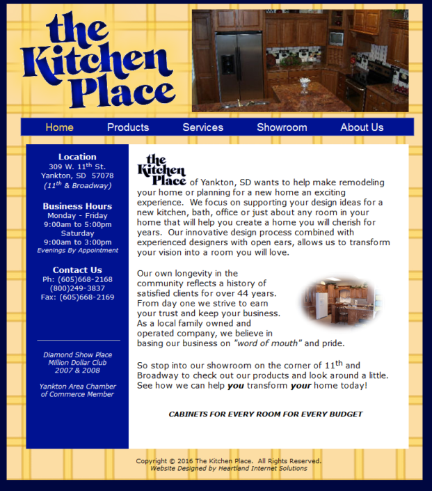 The Kitchen Place Website