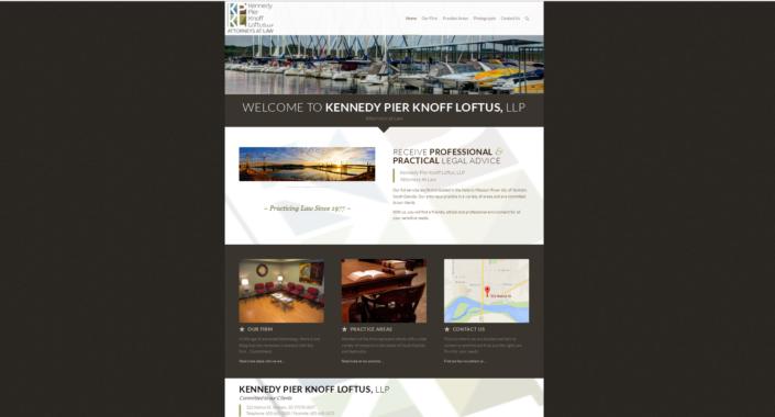 Kennedy Pier Knoff Loftus, LLP Website