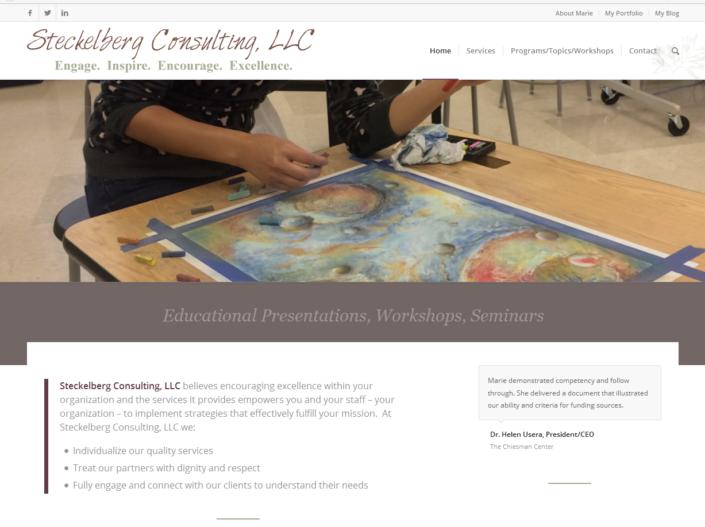 Steckelberg Consulting LLC Website