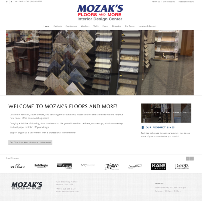 Mozak's Floors and More Website