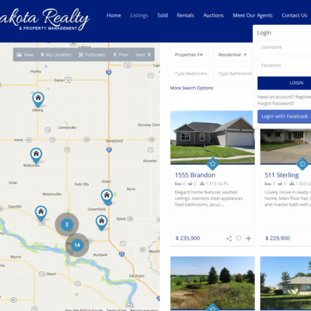 Dakota Realty Website